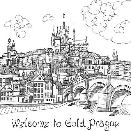 2,364 Prague Cliparts, Stock Vector And Royalty Free Prague.