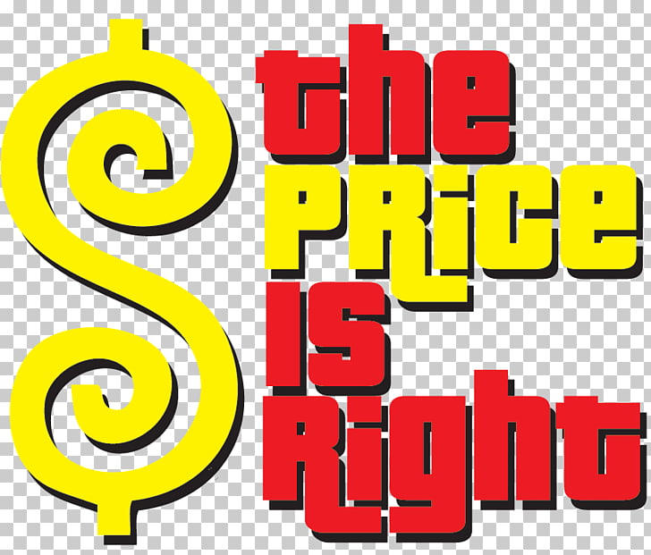 Logo graphics Brand, the price is right PNG clipart.
