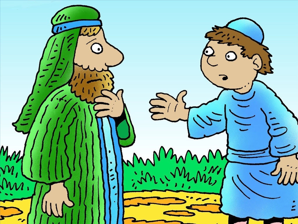 FreeBibleimages :: The wild son who returned :: A parable.