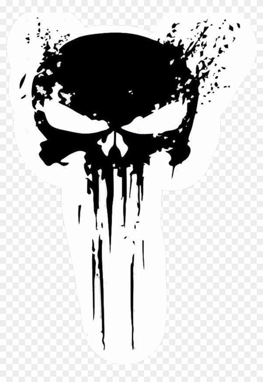 Punisher Sticker.