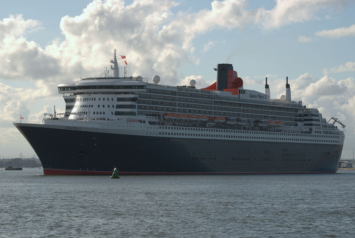 RMS Queen Mary 2.