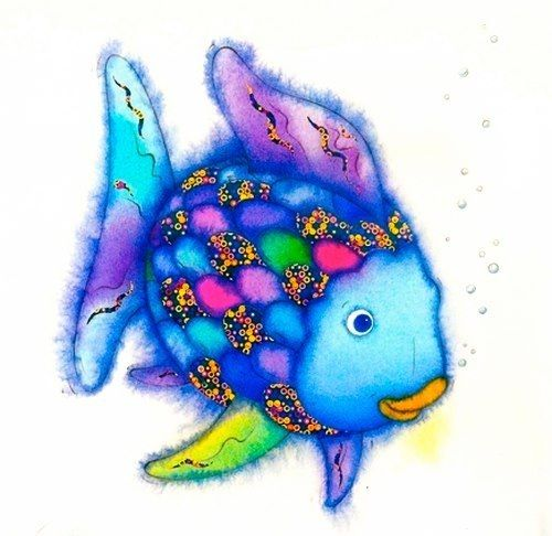 The Rainbow Fish Clipart.