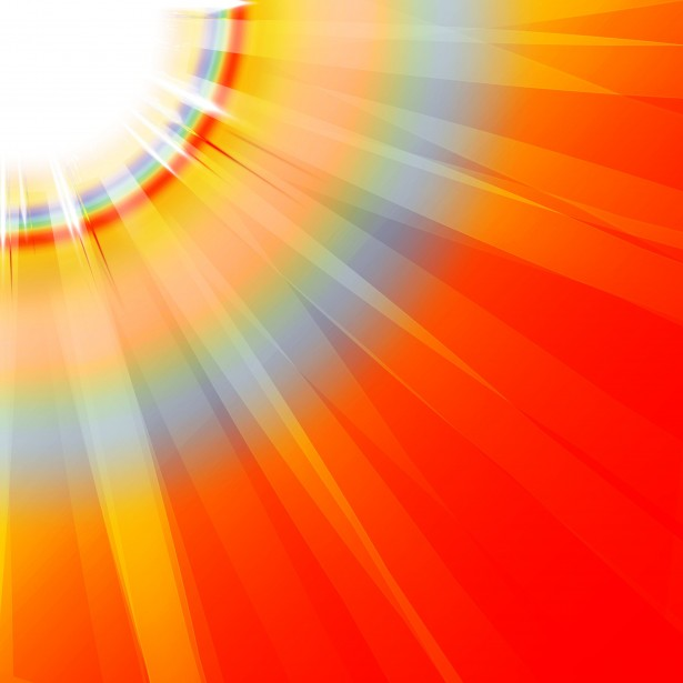Clip Art Sun Rays 1 Free Stock Photo.