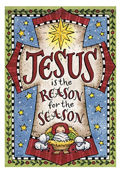 Jesus is the Reason for the Season Cross 28\