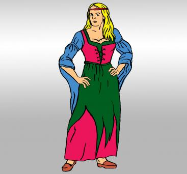 What Did Women Wear in Medieval Times.