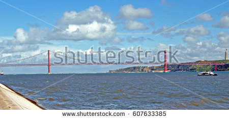 Tagus River Stock Images, Royalty.