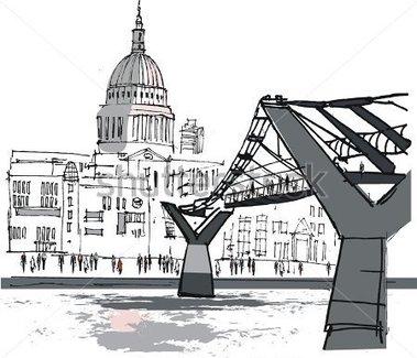 River Thames Clipart.