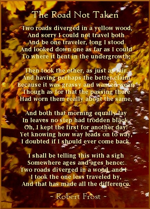 17 best ideas about Poems By Robert Frost on Pinterest.