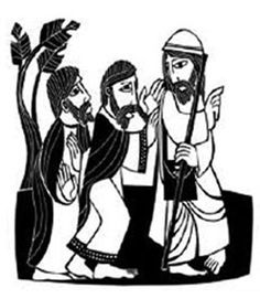 Road to emmaus clipart 2 » Clipart Station.