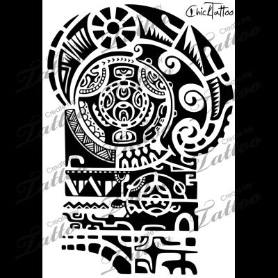 Marketplace Tattoo Not The Rock\'s Tattoo #14543.