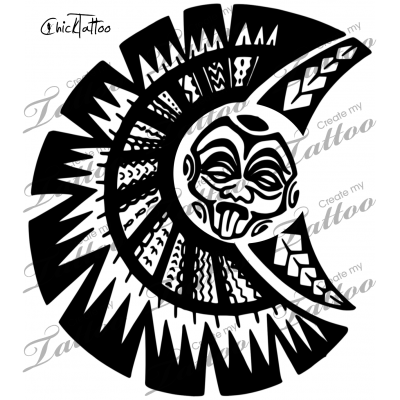 Not The Rock\'s Chest Design #Polynesiantattoos.