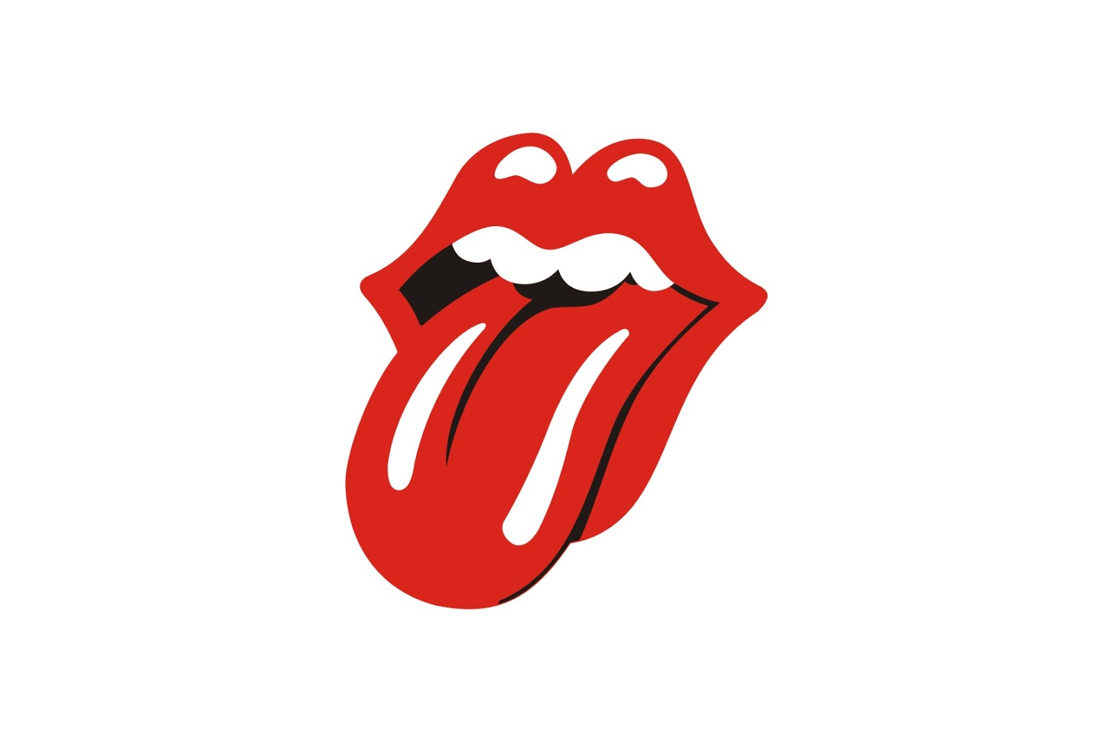 The Rolling Stones Logo Clipart.