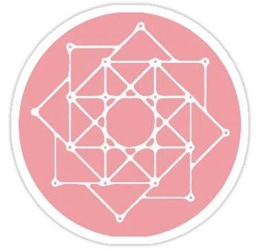 The Rose: Logo Sticker in 2019.