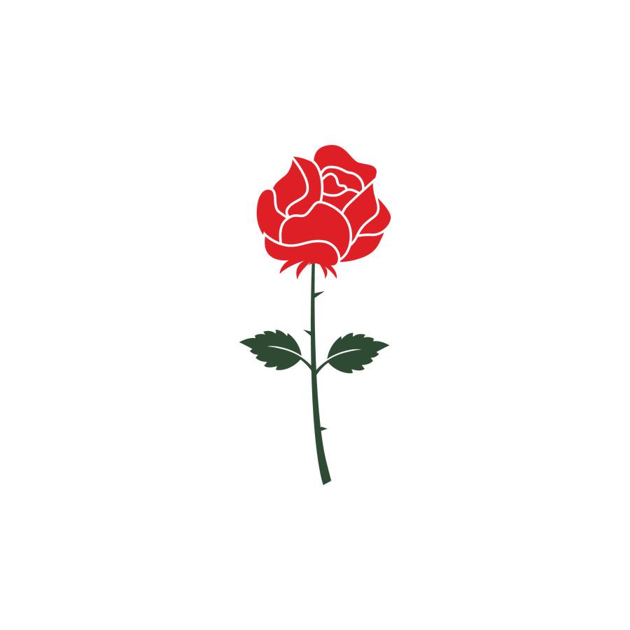 Entry #15 by SharminShorna for Design a rose logo.