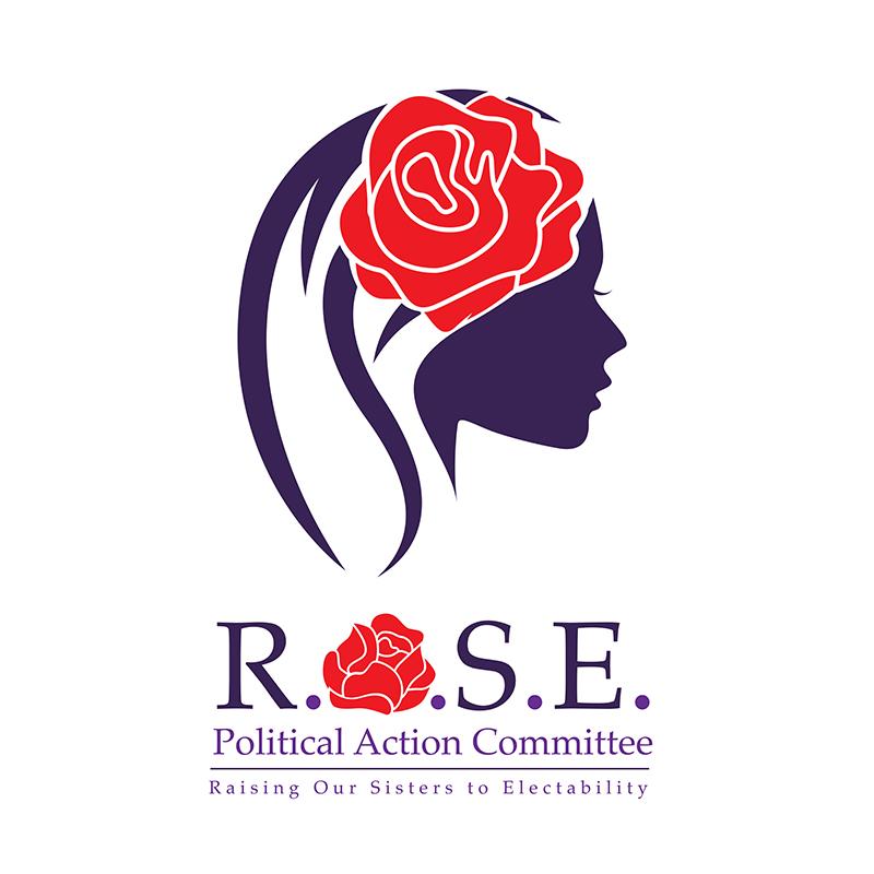 R.O.S.E. PAC Logo.