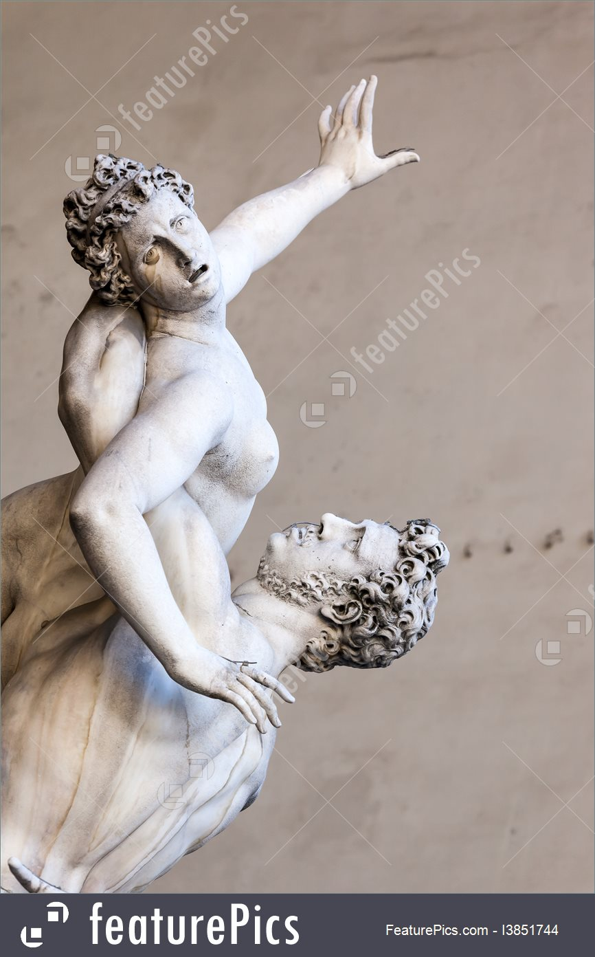 Rape Of The Sabine Women Image.
