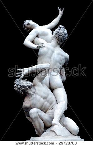 The Rape Of The Sabine Women Stock Photos, Royalty.