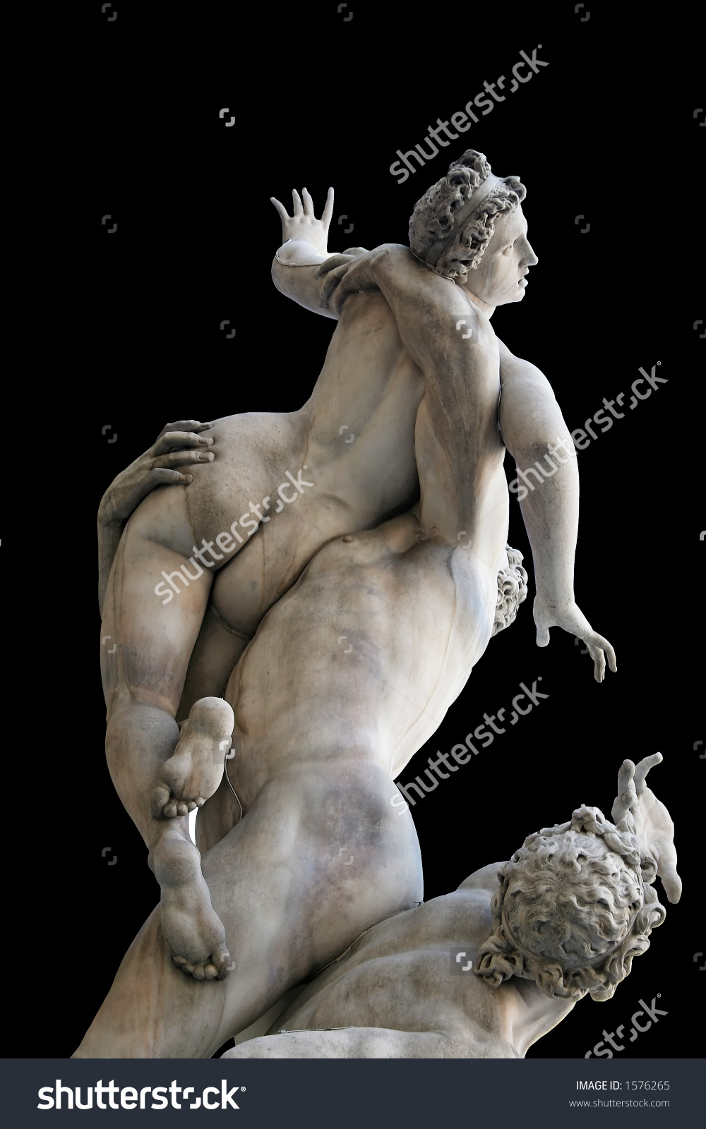 Rape Sabine Women Famous Renaissance Sculpture Stock Photo 1576265.