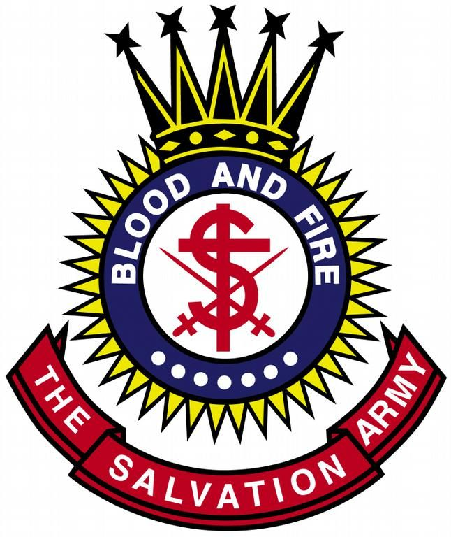 Salvation Army Colors.