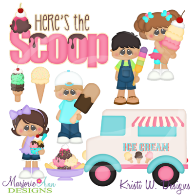 Here's The Scoop Clipart.