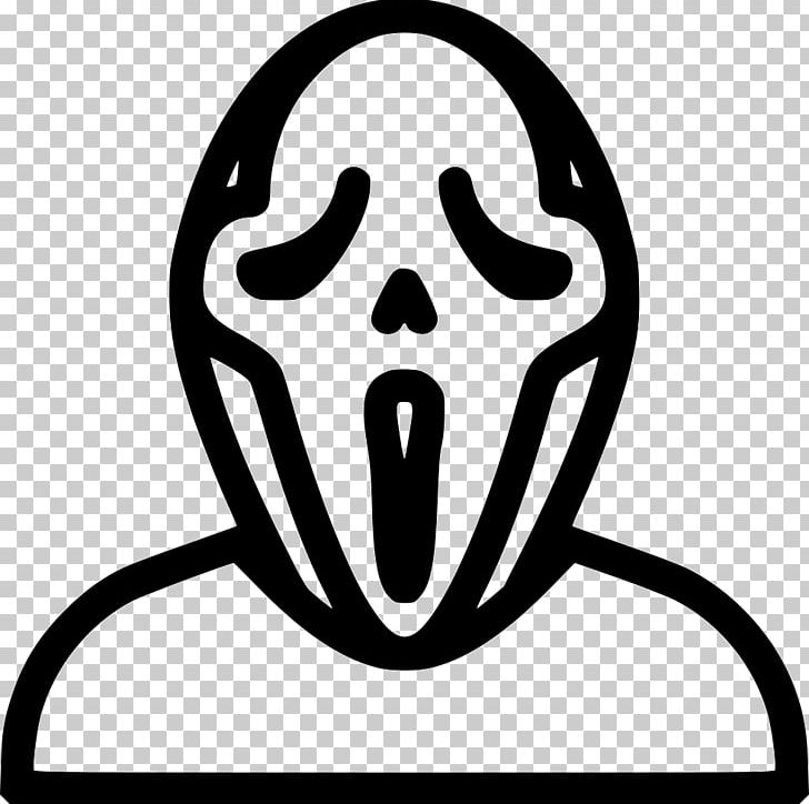 Ghostface The Scream PNG, Clipart, Art, Black And White.