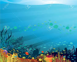 Image result for under the sea background clipart.