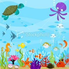 Under The Sea Clip Art & Under The Sea Clip Art Clip Art Images.