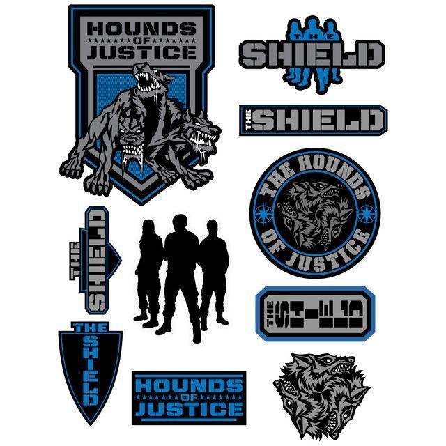 WWE Shield logos.