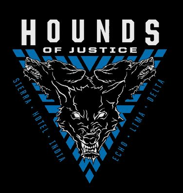 The Shield: Hounds Of Justice 2019 Logo PNG by TheBigDog1996.