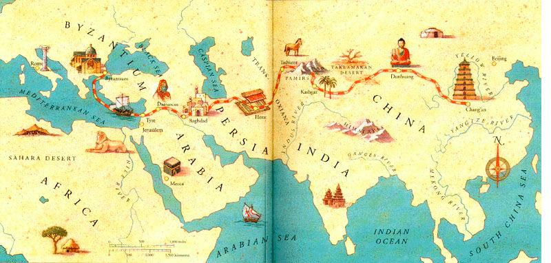 Politics and Cultures Along the Silk Road.