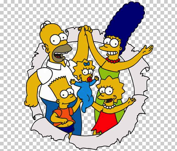 Homer Simpson Lisa Simpson Marge Simpson Bart Simpson The.