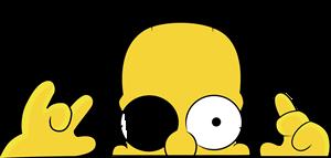 Simpsons Logo Vectors Free Download.