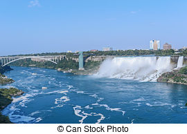 Picture of Niagara Falls From the Skylon Tower.