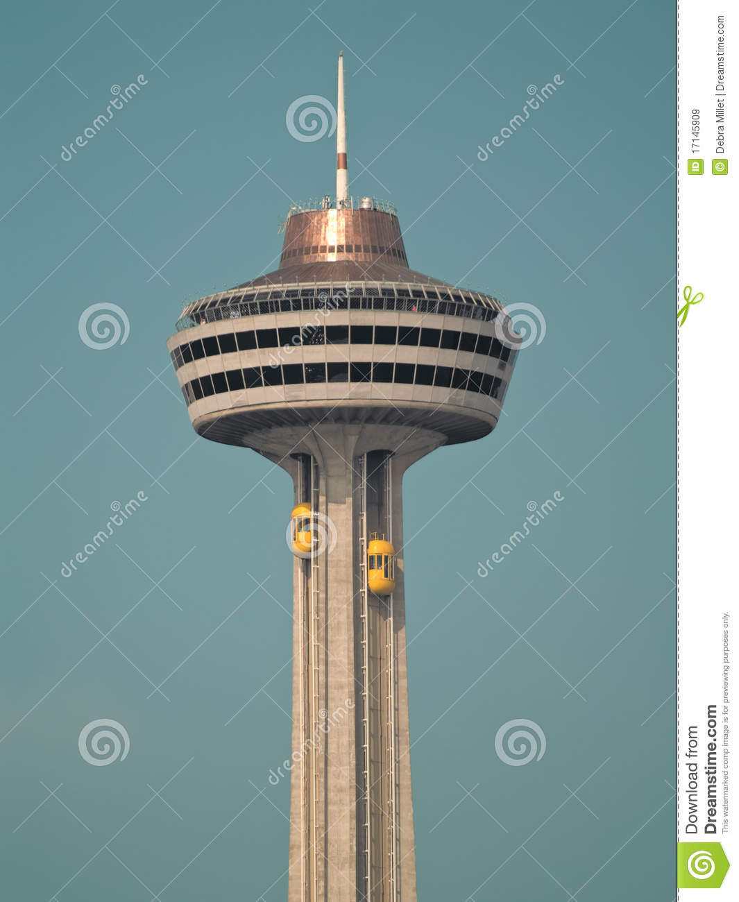 Skylon Tower Royalty Free Stock Images.