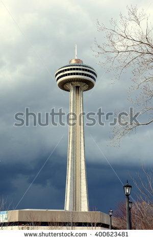 Skylon Tower Stock Photos, Royalty.
