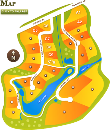 slalom course.
