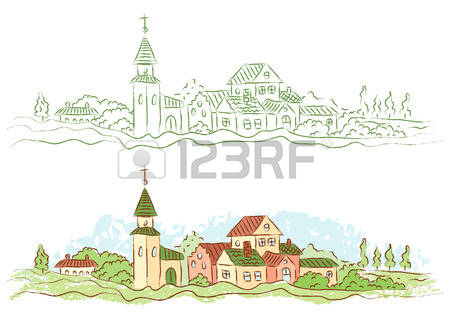 11,869 Town Country Stock Vector Illustration And Royalty Free.