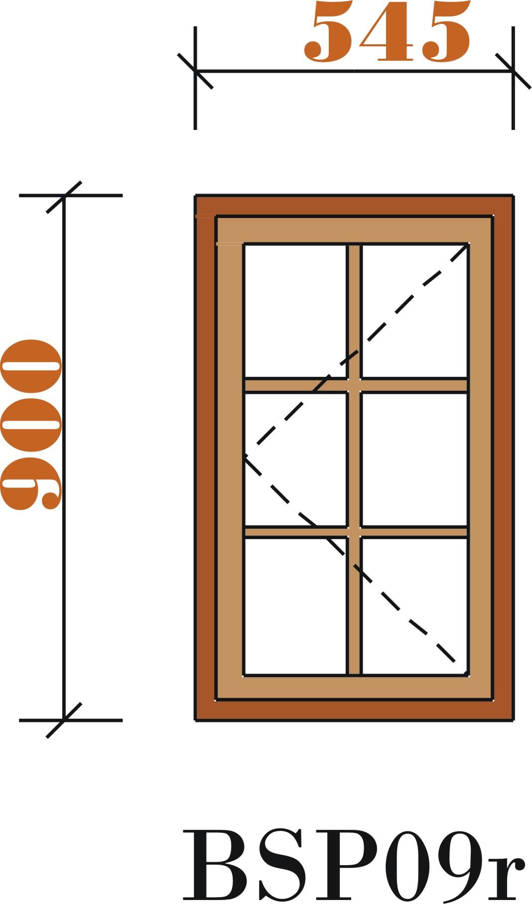 Small Window Pane.