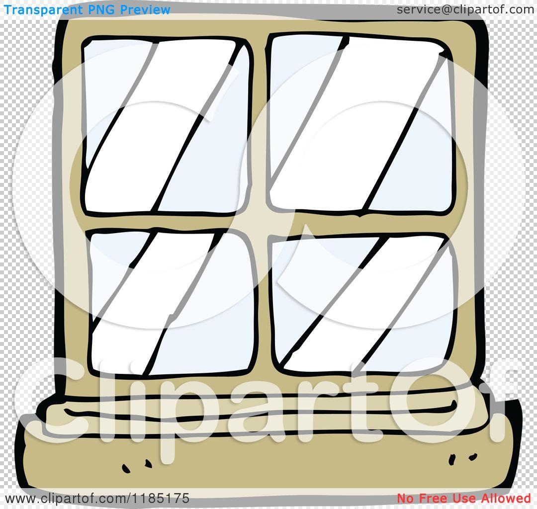 Cartoon of a Window Pane.