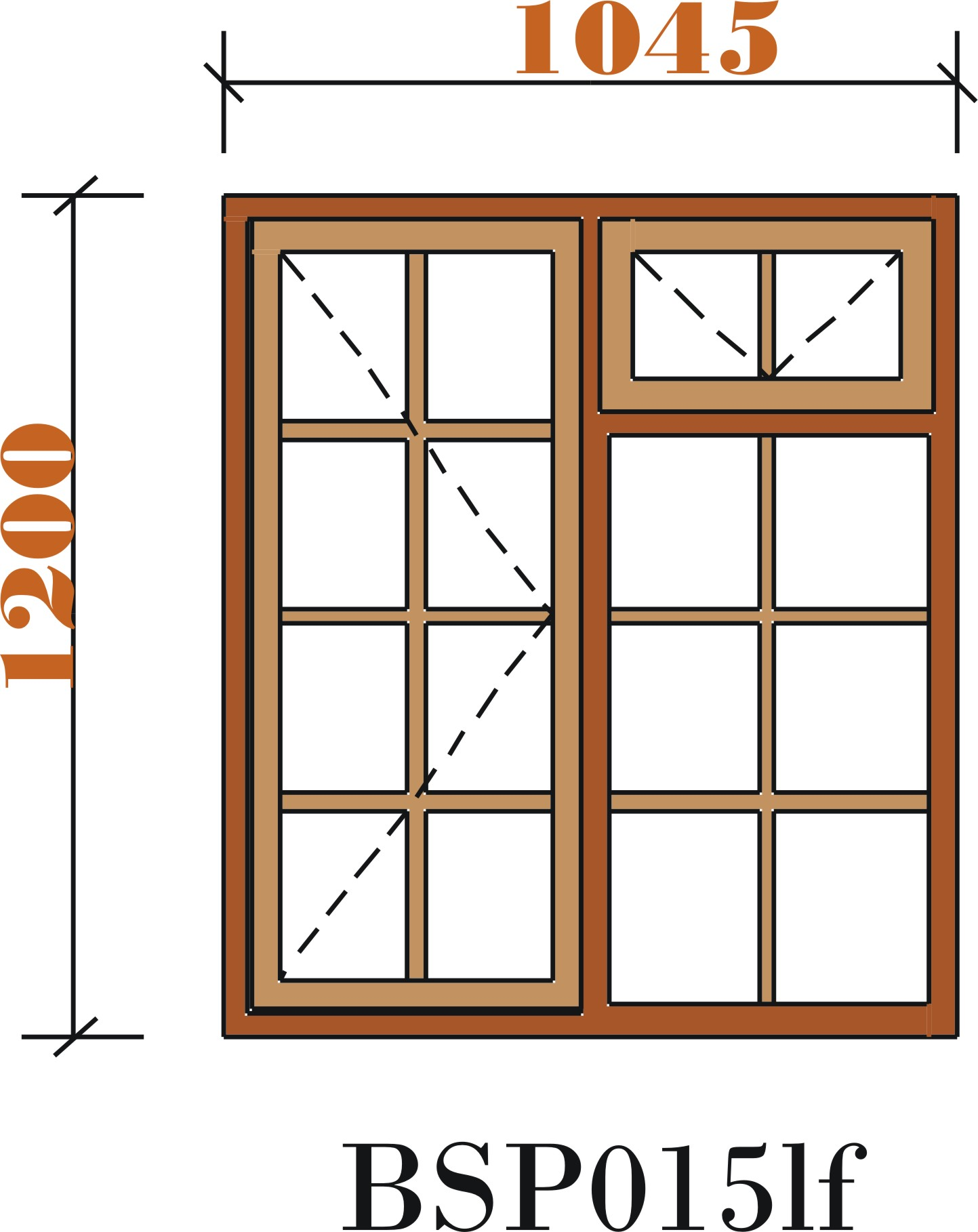 The small window panes clipart #13
