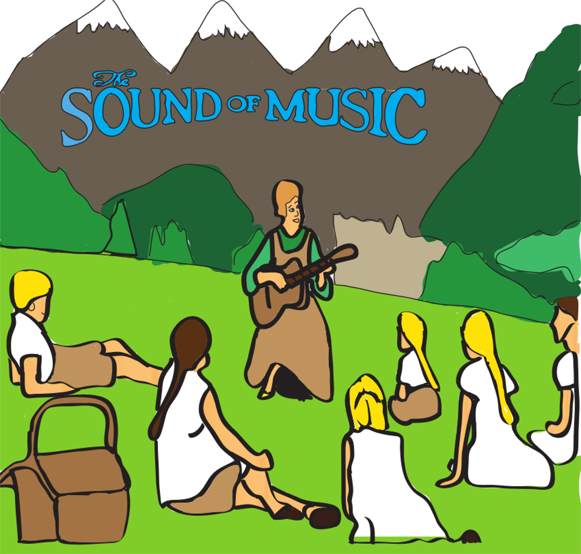 Sound of music clipart 3 » Clipart Station.