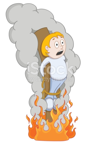 Burned At The Stake stock vector art 91289499.