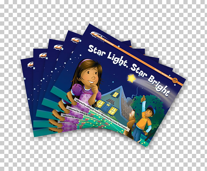 Advertising Graphic design Star Light, Star Bright Book.