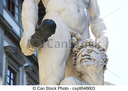 Stock Photos of Hercules and Cacus Florence.