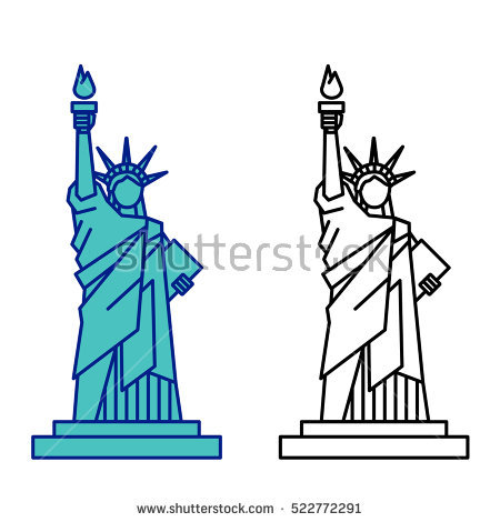 65+ Statue Of Liberty Clipart.
