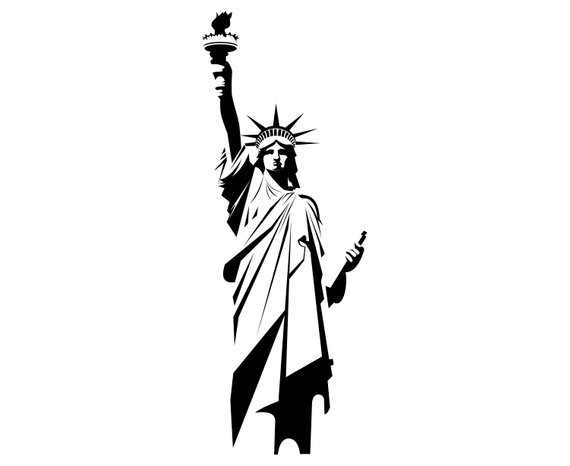 Collection of Liberty clipart.