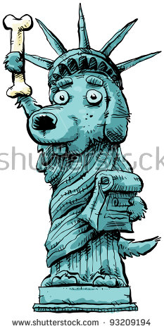 Dog Statue Stock Images, Royalty.