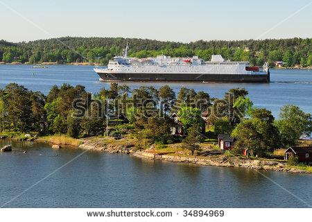 Stockholm Archipelago Stock Photos, Royalty.