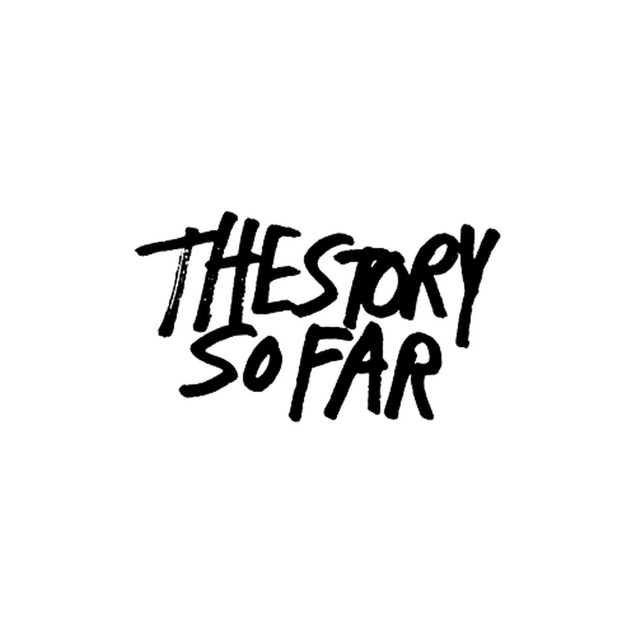 The Story So Far Rock Band Logo Decal.