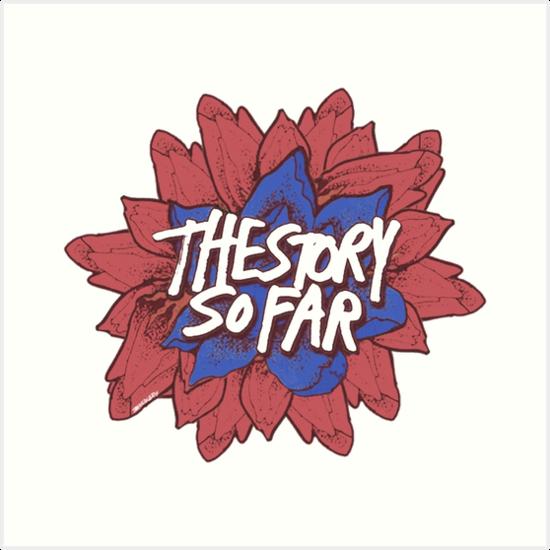 \'The Story So Far logo\' Art Print by mckennadean.